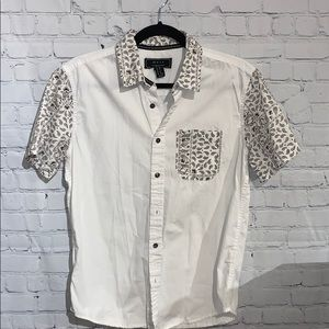 Forever 21 Men's Short Sleeve Button Down Size XS
